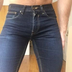 Zara man dark wash jeans